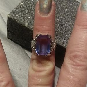 Blue/Purple Tourmaline Kay's Jewelers Ring